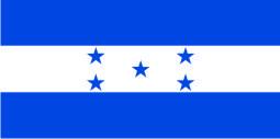 Флаг Гондураса 0,9х1,8 м. атлас