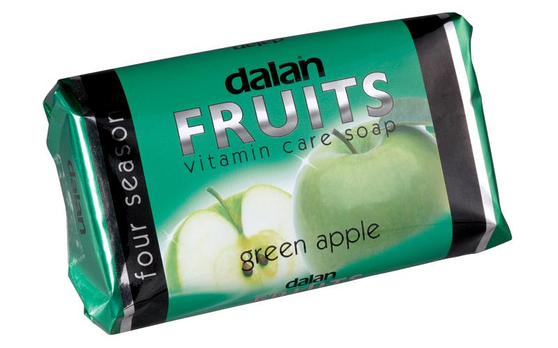 """Мыло Dalan Fruits """"Зелёное яблоко"""" (150г.)"""