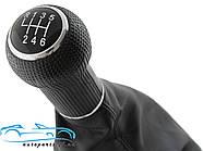 Чехол рычага КПП с ручкой Гольф 4, Golf 4 6 передач