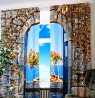Креативное декорирование – шторы с фотопринтом