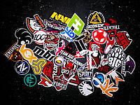 Набор стикеров (наклеек) с командами CS GO
