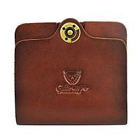 Кошелек, бумажник, портмоне мужской Gato Negro Simple Brown ручной работы