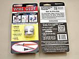 Струмопровідний клей Wire Glue 9мл графітовий рідка дріт струмопровідна фарба, фото 5