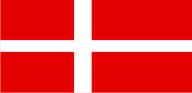 Флаг Дании 0,9х1,2 м. материал для уличного применения флажная сетка