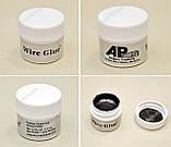 Струмопровідний клей Wire Glue 9мл графітовий рідка дріт струмопровідна фарба, фото 4
