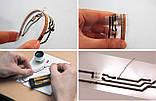 Струмопровідний клей Wire Glue 9мл графітовий рідка дріт струмопровідна фарба, фото 6