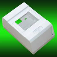 Щиток под 3-4 автоматических выключателя без крышки