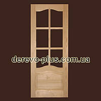 Двері з масиву дерева 80см (під скло) s_1180
