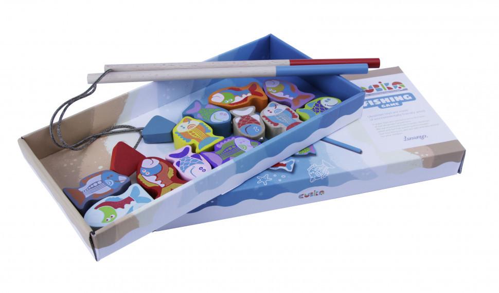 Деревянная игрушка Cubika Рыбалка (13739)