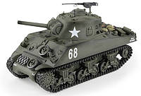 Танк р/у HENG LONG M4A3 Sherman   3898-1, 1:16