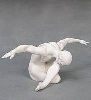 """Фарфоровая статуэтка """"Атлет"""" (Глазурь) WS-108/ 2"""