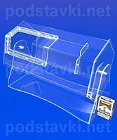 Лототрон объем 15 литров, акрил 6, габариты (ШхВхГ) 460х310х225 мм (PR-11)