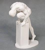 """Фарфоровая статуэтка """"Атлет"""" (Бисквит) WS-112/ 1"""