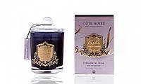 Аромасвеча Cote Noire Розовое шампанское 450г  золото