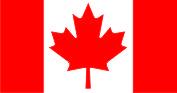 Флаг Канады 0,9х1,8 м. атлас