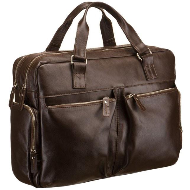 10bed532227c Мужская кожаная коричневая сумка BLAMONT Bn002C - Arion-store -  кожгалантерея и аксессуары в Киеве