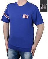 Стильная модная мужская футболка большого размера.