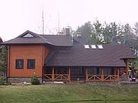 Дом деревянный (коттедж) №1