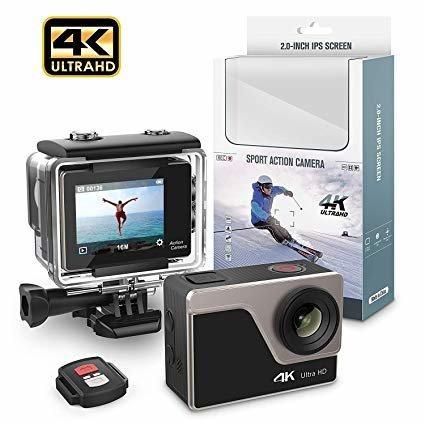 Action Camera AT30R WiFi 4K + пульт