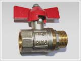 Кран кульовий 16*16 для металопластикової труби посилений, фото 3