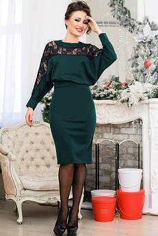 Шикарне плаття Альберта, смарагдове