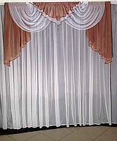 Ламбрекен на окно в кухню, богатый ламбрекен в зал спальню гостинную, ламбрекен на кухню, ламбрекены для, фото 5