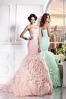Прокат 3300 грн. Свадебное платье со шлейфом «Царство Розы», фото 1
