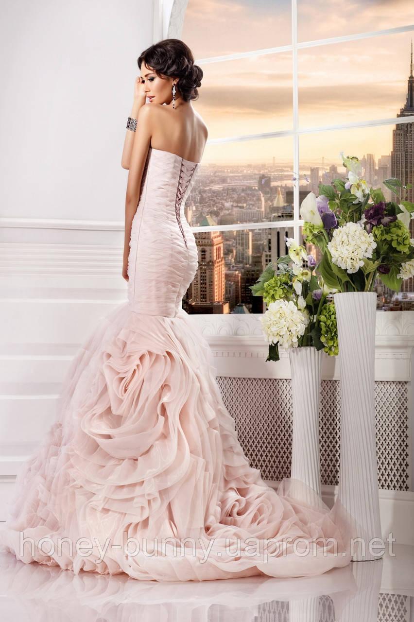 Свадебное платье со шлейфом прокат