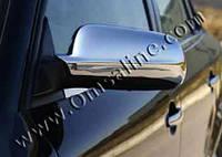 Накладки на зеркала (нерж.) AUDI 100/A6 C-4