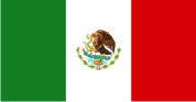 Флаг Мексики 0,9х1,6 м. материал для уличного применения флажная сетка