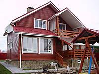 Дом деревянный коттедж №3