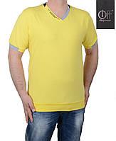 Летняя мужская футболка большого размера
