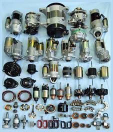Стартера генераторы и их комплектующие