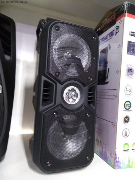 Колонка акустическая A-62 Bluetooth, аккумуляторная