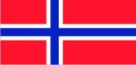 Флаг Норвегии 0,9х1,2 м. атлас