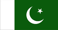 Флаг Пакистана 0,9х1,35 м. атлас
