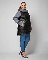 Куртка женская демисезонная 1312, размер 48-60, фото 3