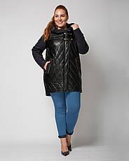 Куртка женская демисезонная 1312, размер 48-60, фото 2