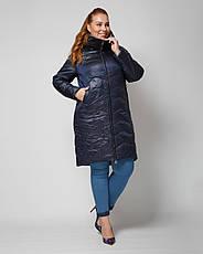 Куртка женская демисезонная 3081, размер 46-56, фото 3