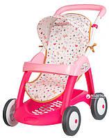 Коляска Smoby Baby Nurse для прогулок з корзиной (251023)
