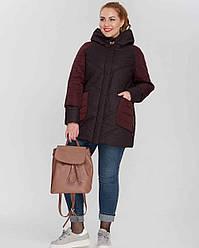 Куртка женская демисезонная 3086, размер 46-58