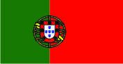 Флаг Португалии 0,9х1,35 м. материал для уличного применения флажная сетка