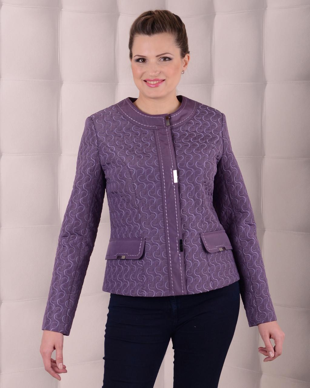 Куртка-жакет женская демисезонная 3597, размер 46-58