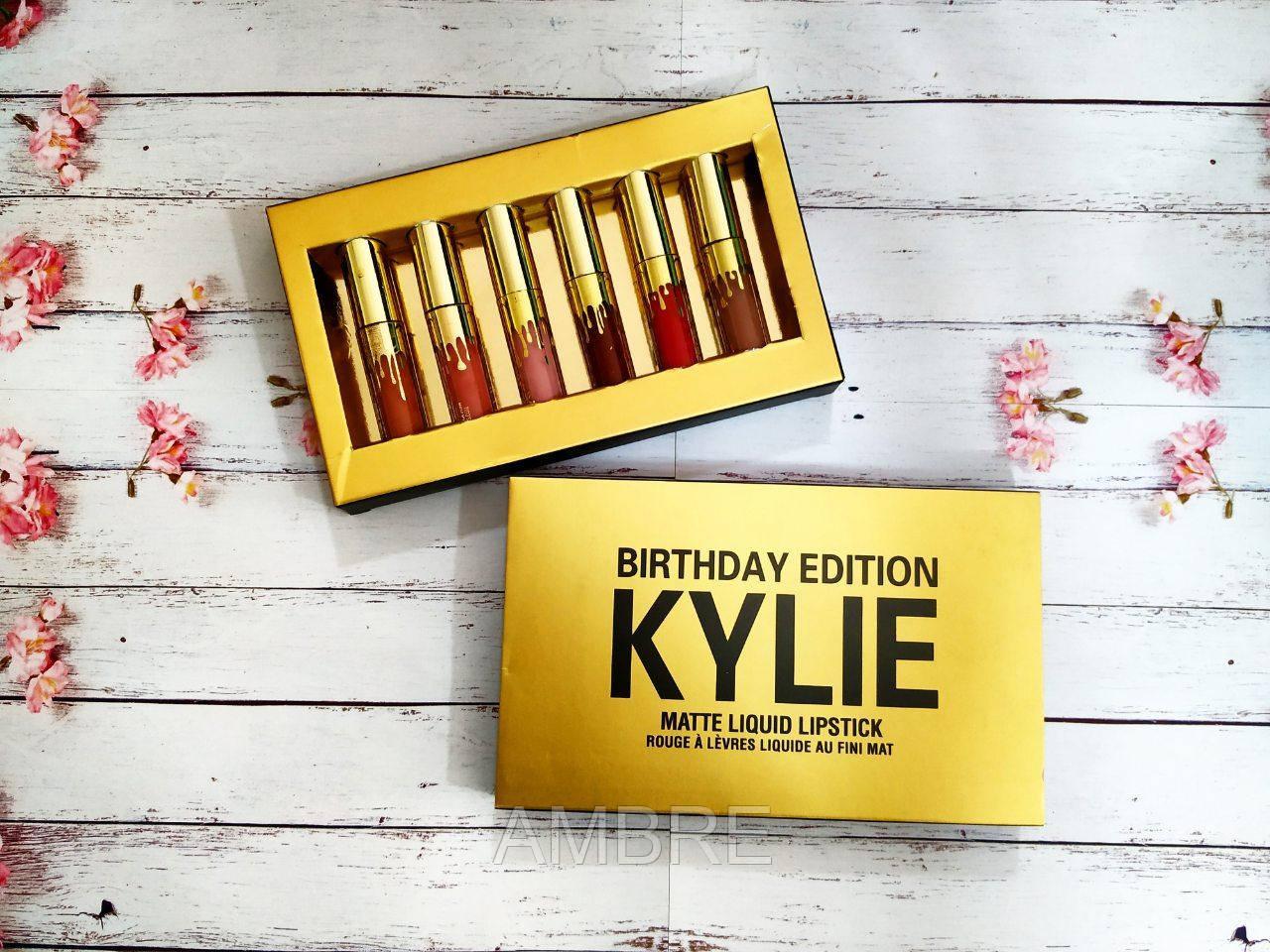 Набор помад Kylie Jenner Birthday