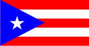 Флаг Пуэрто-Рико 0,9х1,35 м. материал для уличного применения флажная сетка
