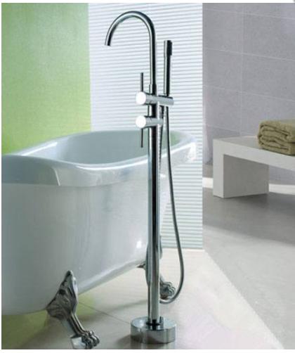 Стойка-смеситель для ванны напольная  8-018