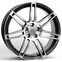 Литые диски WSP Italy Audi (W557) S8 Cosma Two W7.5 R17 PCD5x112 ET30 DIA66.6 black polished