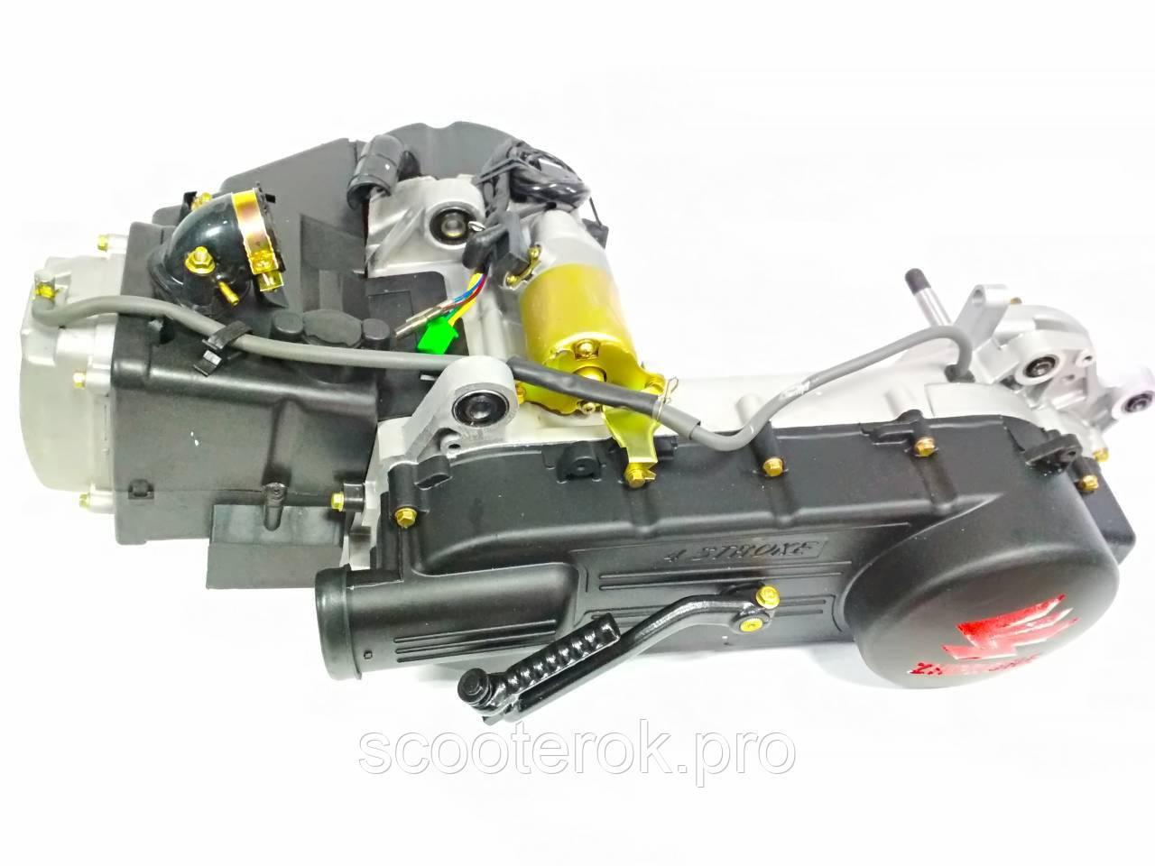 Двигатель в сборе  4T GY6-150 куб. под колесо на 13.