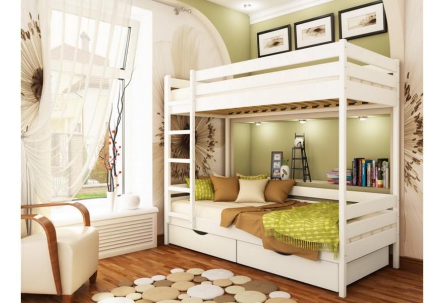 Двухъярусная детская кровать Дуэт 80х190