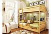 Двухъярусная детская кровать Дуэт 80х190, фото 3